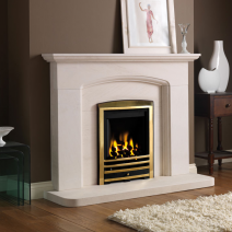 Cotswold Arch Limestone Full Fireplace Package
