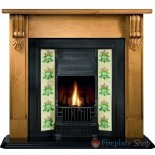 "Grandia 54"" Pine Mantel Surround"